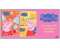 Femme Actuelle: 50 Lots de 2 DVD de Peppa Pig à gagner