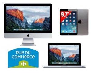 promotion prix coutant sur tous ordianateurs macbook imac et tablettes ipad