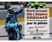 Moto Journal: 1 casque KR1 Replica dédicacé remis en main propre par Aleix Espargaro à gagner