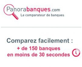 Panorabanques: Comparez gratuitement + de 150 banques en moins de 30 secondes