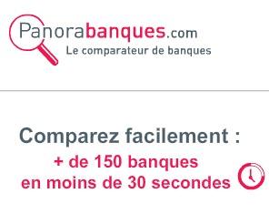 Code promo Panorabanques : Comparez gratuitement + de 150 banques en moins de 30 secondes