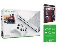 Cdiscount: Xbox One S 500Go + Battlefield 1 + 1 Blu-ray 4K + 3 Mois de Xbox Live à 299,99€
