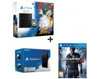 Auchan: Pack PS4 1To Naruto : Ultimate Ninja Storm 4 + Uncharted 4 + PS TV à 349,99€
