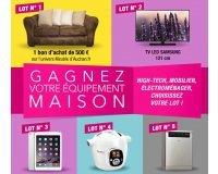 Auchan: 1 iPad, 1 Cookeo, 1 Lave-vaisselle, 1 TV LED & 1 bon d'achat de 500€ à gagner