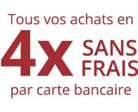 Boulanger: Tous vos achats en 4X sans frais par carte bancaire