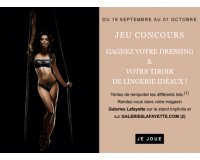 Galeries Lafayette: 5000€ de personal shopping et des parures de lingerie Implicite à gagner