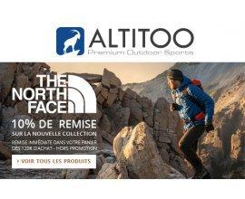 Altitoo: Obtenez 10% de remise dès 120€ d'achat sur la nouvelle collection The North Face