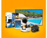 Auchan Drive: 1 voyage en France, 1 jacuzzi, 1 PS4, 1 iPad Mini, 1 TV Samsung [...] à gagner