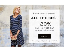 Envie de Fraise: 20% de réduction sur une sélection de vêtements de grossesse