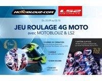 Motoblouz: 1 journée de formation, 1 casque de moto LS2 & 2 baptèmes de piste à gagner