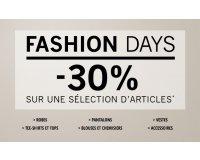 1.2.3: Fashion Days : -30% sur une sélection d'articles