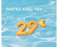 Voyages SNCF: Promo TGV : partez en France ou en Europe dès 29€