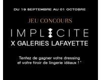 Galeries Lafayette: 5000€ de personal shopping à dépenser et jusqu'à 1 an de lingerie à gagner