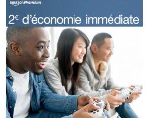 Amazon: [Membres Premium] 2€ de réduction en plus sur les jeux vidéo en précommande