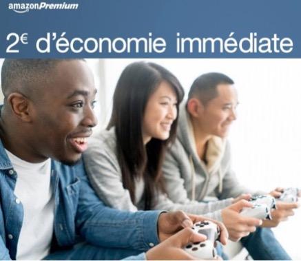 Code promo Amazon : [Membres Premium] 2€ de réduction en plus sur les jeux vidéo en précommande