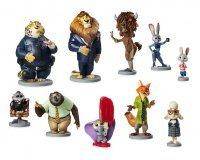 Disney Store: Ensemble de 10 figurines de luxe du dessin animé Zootopie à 15€