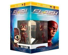 Amazon: Coffret Blu-Ray de la série Flash (Saison 1) + 1 figurine Pop! (Funko) à 23,61€