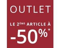 Camaïeu: OUTLET : -50% sur le 2e article