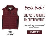 Oxbow: 1 veste achetée = 1 chèche offert