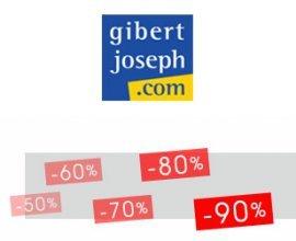 Gibert Joseph: Jusqu'à 90% d'économies sur les livres neufs