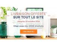 Delamaison: Livraison offerte à domicile dès 150€ d'achats et en point relais dès 45€