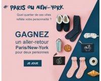 Darjeeling: 1 aller-retour Paris/New-York et des ensembles de lingerie à gagner