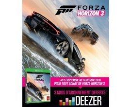 Cdiscount: 3 mois d'abonnement à Deezer offerts + le jeu Xbox One Forza Horizon 3 pour 49€