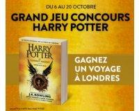 Cultura: 1 week-end à Londres sur les traces d'Harry Potter et des tomes à gagner