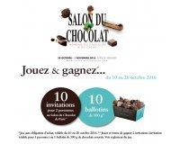 Jeff de Bruges: 10 x 2 invitations au Salon du Chocolat & 10 ballotins de chocolats à gagner