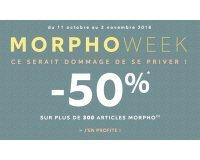 BALSAMIK: -50% sur plus de 300 articles Morpho