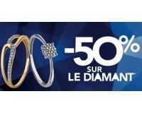 TrésOr: 50% de réduction sur le diamant