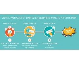 Trainline: Votez sur des trajets, obtenez des codes promo & voyagez en train à petits prix