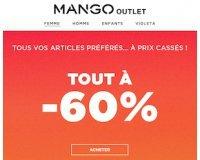 Mango: 60% de réduction sur tout l'Outlet