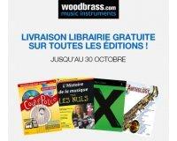 Woodbrass: Livraison gratuite sur toutes les partitions et livre d'apprentissage de musique