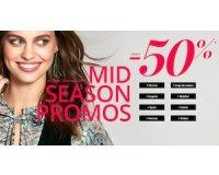 3 Suisses: Mid season promos : jusqu'à -50% sur la mode et la maison