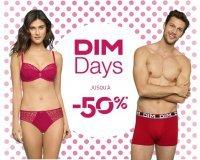 DIM: [DIM Days] Jusqu'à -50% sur une large sélection et - 10% supplémentaires