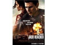 Menlook: 100 lots de 2 places de cinéma pour le film Jack Reacher: Never Go Back à gagner