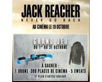 Speed Rabbit Pizza: De nombreux lots à gagner dont un drone pour la sortie du film Jack Reacher