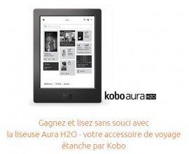 "Opodo: 15 ans Opodo : 1 liseuse étanche ""Kobo Aura"" à gagner"