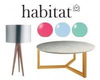 Habitat: [Cartes Habitant] - 20% sur une sélection de meubles d'appoint et luminaires