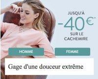 Cyrillus: Jusqu'à -40€ sur les pulls et gilets en cachemire FEMME et HOMME