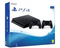 Amazon: La PS4 Slim version 1To & 2 manettes Dualshock 4 à 299.90€ au lieu de 349,95€