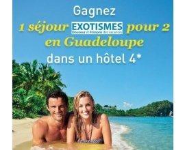 Télé 7 jours: 1 séjour en Guadeloupe pour 2 personnes en hôtel 4* à gagner