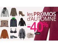 3 Suisses: Promos d'Automne : jusqu'à 40% de réduction sur une sélection d'articles