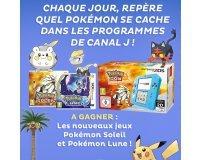 """Canal J: 1 console Nintendo 2DS et 50 jeux vidéo 3DS """" Pokémon"""""""