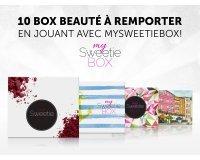 MySweetieBox: 10 box beauté à gagner