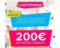 Castorama: 700€ de cartes cadeaux à gagner