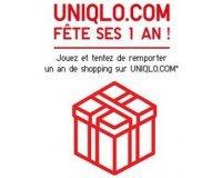 Uniqlo: 1 an de shopping UNIQLO sous forme de bon réduction 100€ tous les 2 mois