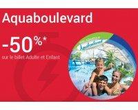 Fnac Spectacles: -50% sur votre entrée chez Aquaboulevard