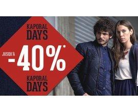 Kaporal Jeans: Kaporal Days : jusqu'à -40% sur une sélection d'articles